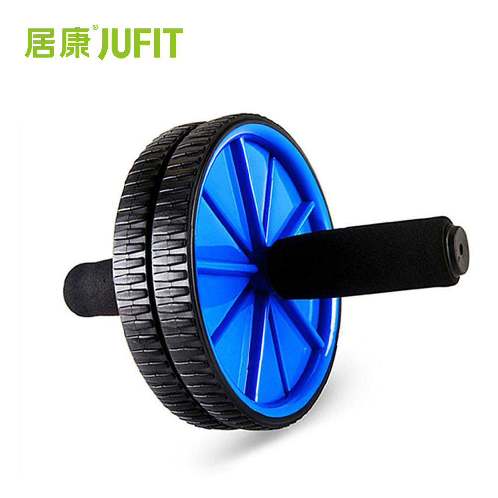 JUFIT Abdominal Rollers Wheel for Belly/Waist/Arms/Legs Fitness Recumbent Workout Exercise Gym Equipment