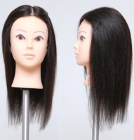 Free Delivery 14 Human Training Makeup Practice Head Hat Display Can Be Cut Fine Color 2114