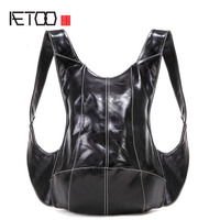 AETOO Original Anti Theft Turtle Shoulder Bag Multi Purpose Travel Backpack Men And Women Personalized Casual