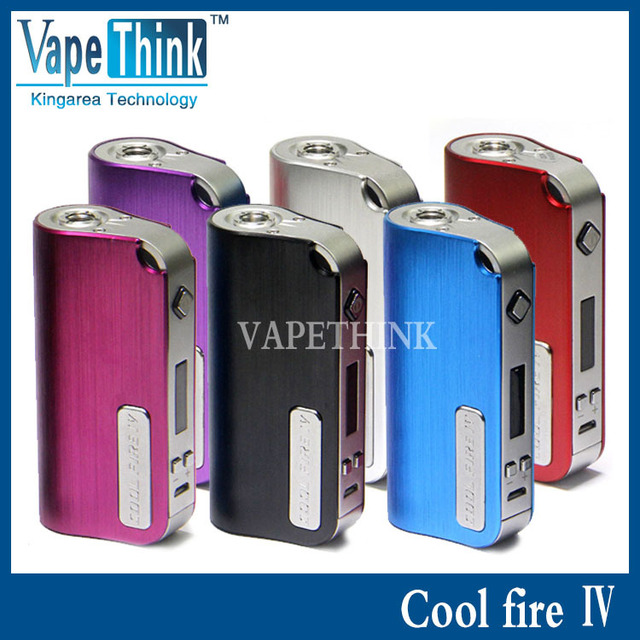 stock innokin Cool fire 4  vv vw Box Mod electronic cigarette kit cool fire IV