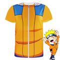 Men Naruto Uzumaki T Shirt Uchiha Itachi Short Sleeve Novelty Costume