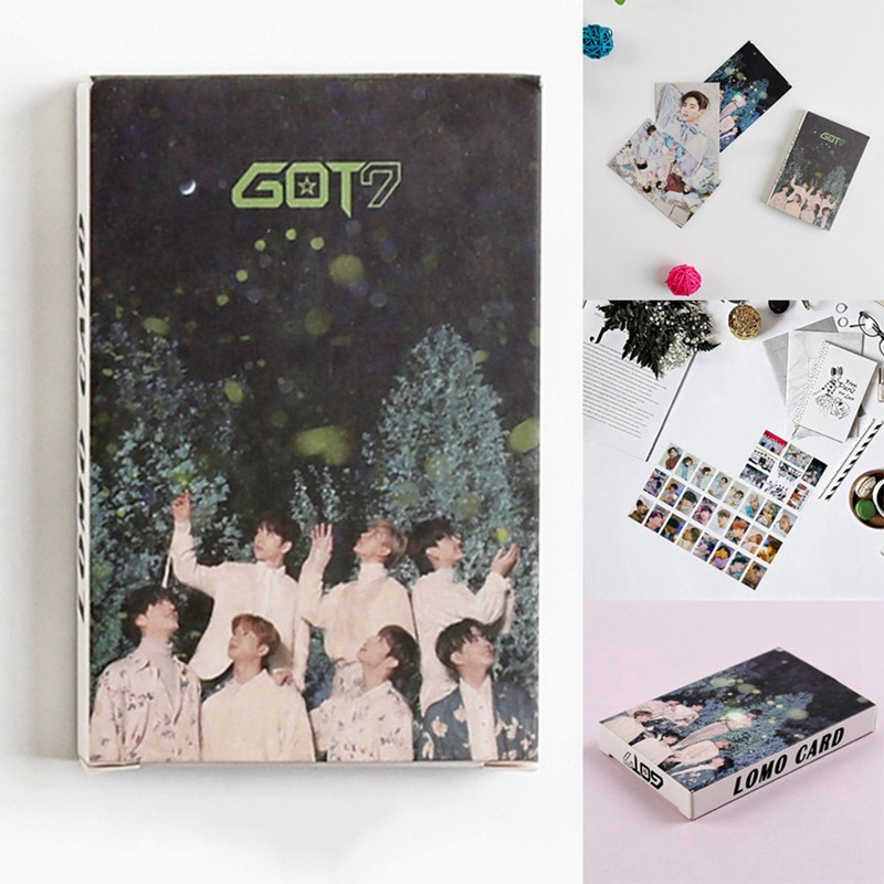 GOT7 New Album Photo Cards (32Pcs/Set)