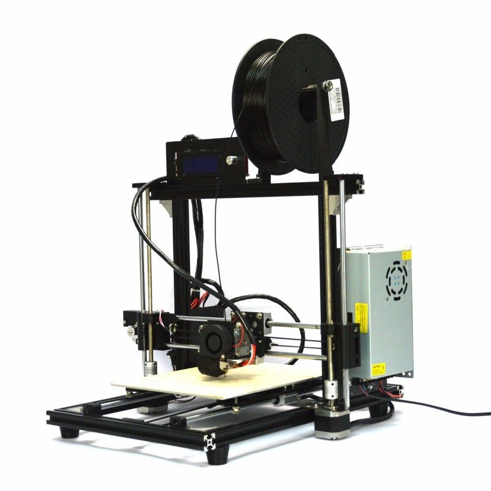 HICTOP Negro Impresora 3D de Escritorio con Pantalla LCD y la Tarjeta SD