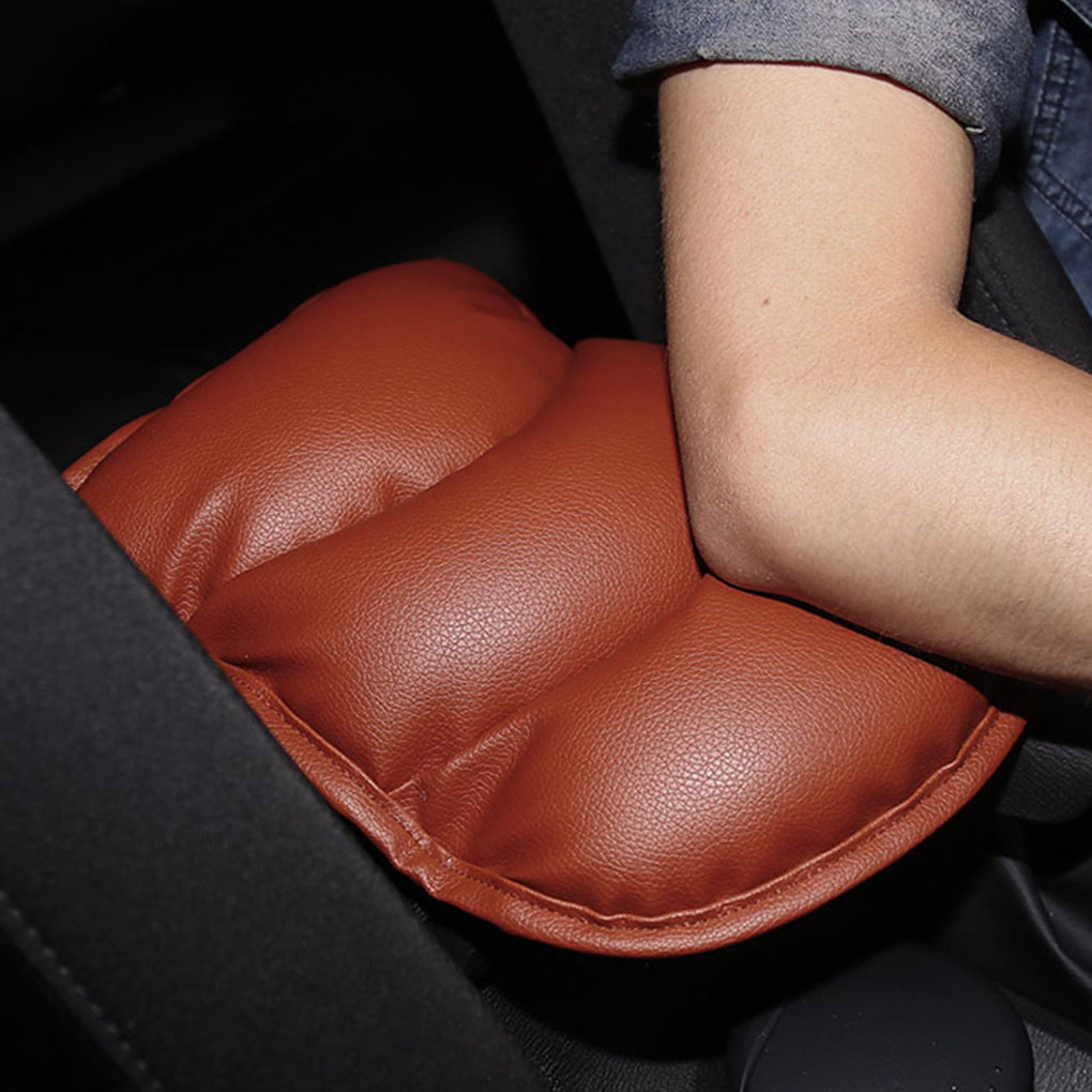 Car Center Console Armrest Support Pads Covers Elbow Pillow Chair Office Home Box Protector