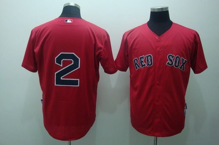 buy online feb37 b8dda Free shipping Boston Red Sox 2# ELLSBURY red jersey,Boston ...