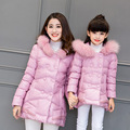 NEW Girl's coats mother and daughter coat family look matching mother daughter clothes fashion winter warm thick outerwear coat