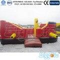 Casa Bouncer salto Inflável com Ventilador livre do navio para Crianças