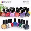 5 unids Gel Profesional UV Esmalte de Uñas Barniz de Laca Pintura Estampado para Nail Art Tips de Belleza Manicura Herramientas 26 Colores