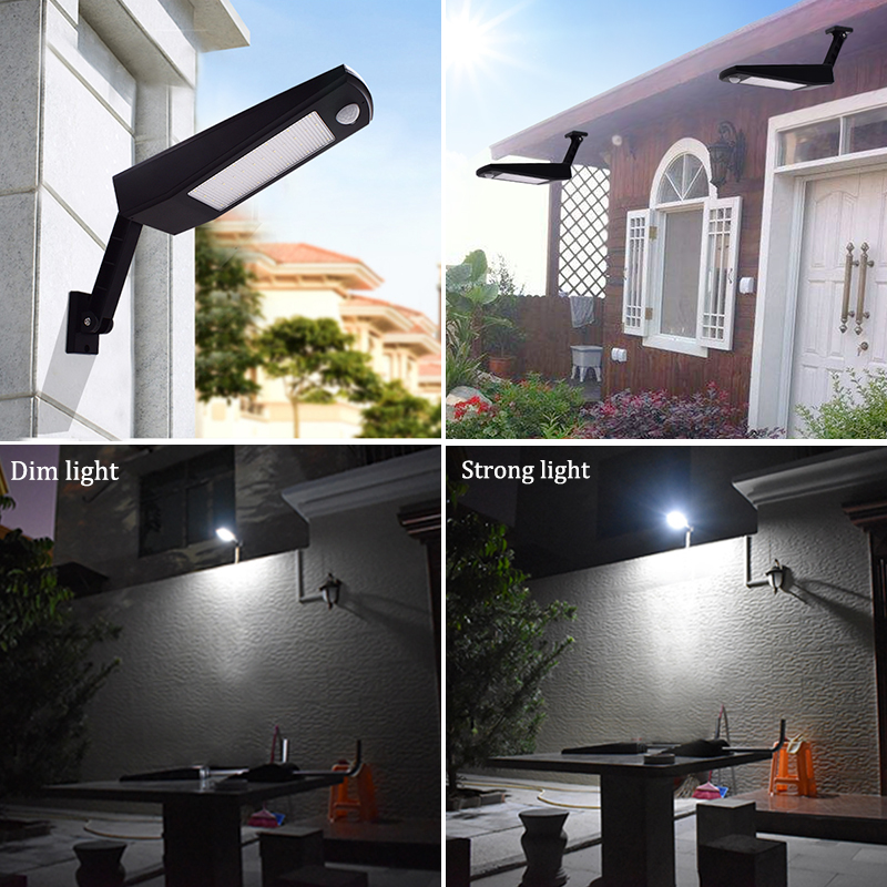 Waterproof and Motion Sensor Outdoor Solar Light with 48 LED and Rotatable Pole for Stairs and Yard 5