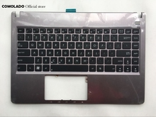 US English Backlit laptop Keyboard For ASUS U47 U47A U47VC silver with C shell palmrest Upper cover US Layout цены