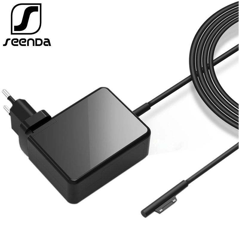 SeenDa 36W 12V 2.58A Wall Charger Adapter for Microsoft Surface Pro 3/4 i5 i7 Tablet Notebook Power Supply Charger for Laptop 12v 3a 36w laptop ac power adapter for lenovo thinkpad helix 10 11 4x20e75066 tp00064a tablet battery charger