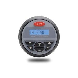 Image 2 - Marine Bluetooth Radio MP3 Player Stereo FM AM USB Audio Marine Wasserdichte Boot Lautsprecher Für Outdoor ATV UTV Motorrad + antenne