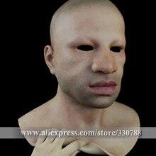 [SF-N4] высококачественные силиконовые маски для празднования Хэллоуина маски для мужчин, полная маска для Хэллоуина