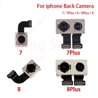 New Back Rear Camera For iPhone X 7 Plus 8 Plus 4.7 5.5 inch Big Camera Module Flex Cable Ribbon Replacement Repair Parts