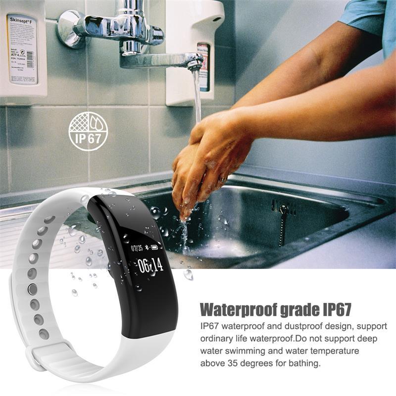 V66 pulsera inteligente impermeable 9