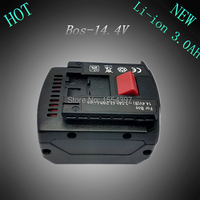 New 14 4V 3 0Ah Lithium Ion Replacement Rechargeable Power Tool Battery For Bosch 2 607