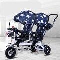 Детские коляски двойные с воздушным колесом универсальные дорожные Детские коляски Детские трехколесные коляски распродажа детских коляс...