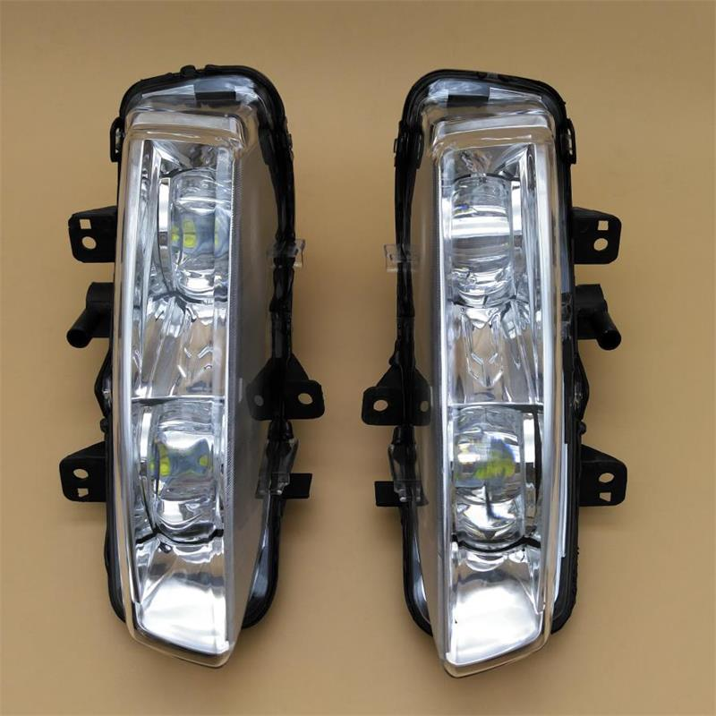 Car LED Light For Land Range Rover Evoque 2012 2013 2014 Car-styling LED DRL Daytime Running Light Front Fog Light Assembly дефлекторы окон novline темный для land rover range rover 2002 2012 комплект 4шт nld slrrr0232