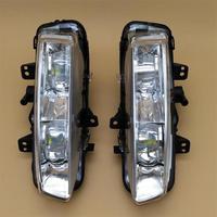 Car LED Light For Land Range Rover Evoque 2012 2013 2014 Car styling LED DRL Daytime Running Light Front Fog Light Assembly