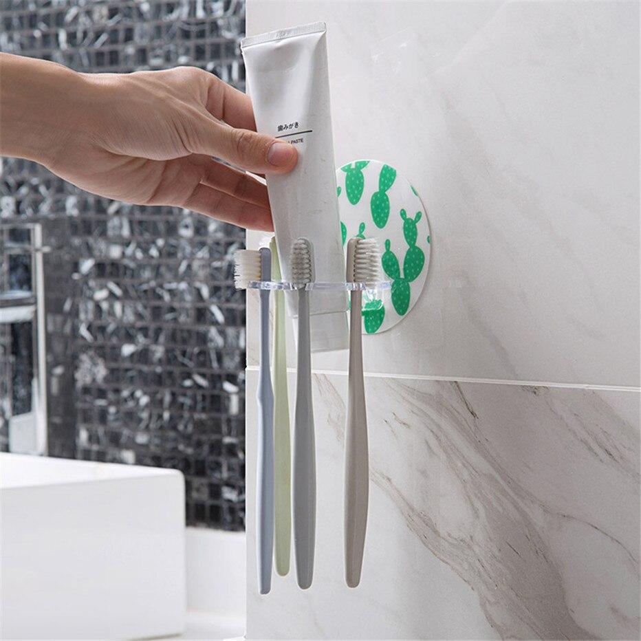 Plastic Toothbrush Cream Shaver Holder