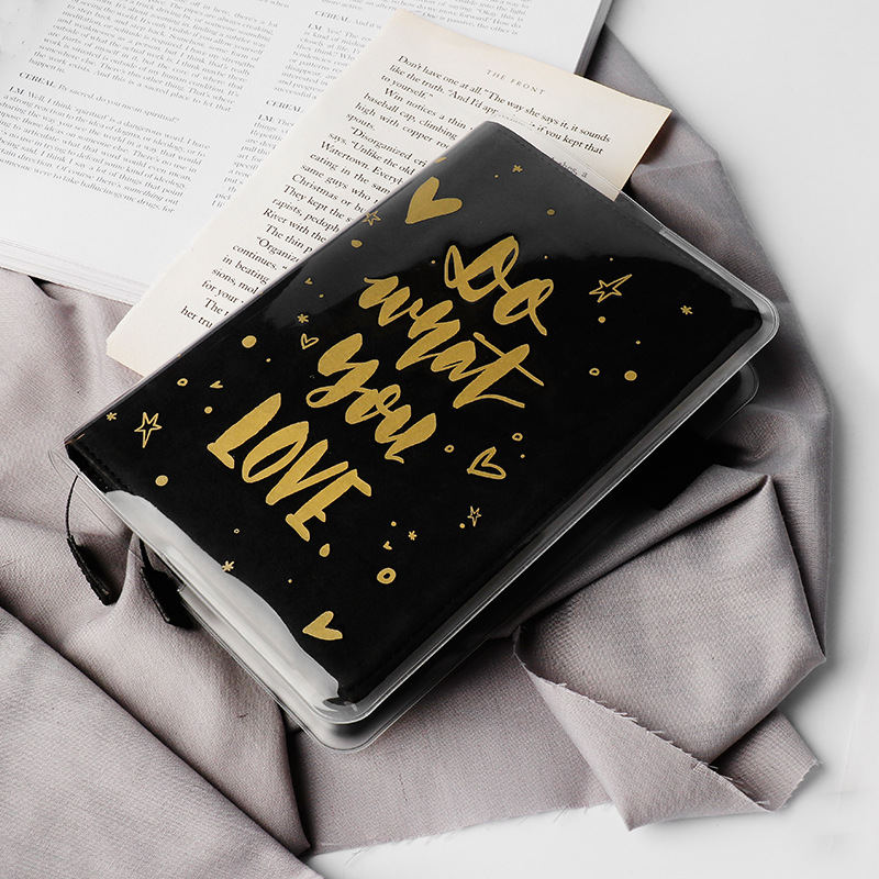 Golden Fashion Dreams And Future Theme PVC Cover For General Hobonichi Journal Cover A5 A6