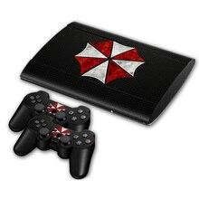 No Estilo de Jogo Da Etiqueta Protetora Da Pele de Vinil para PS3 super slim 4000 CoverSticker para PS3 super slim 4000