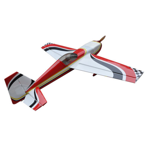 Extra 260 86.7/2204mm Gas 50CC 3D Aerobatic Wood RC Airplane ARF RED US STOCK mxs r 89 2260mm 50cc gas rc airplane balsa wood oracover flim plane arf