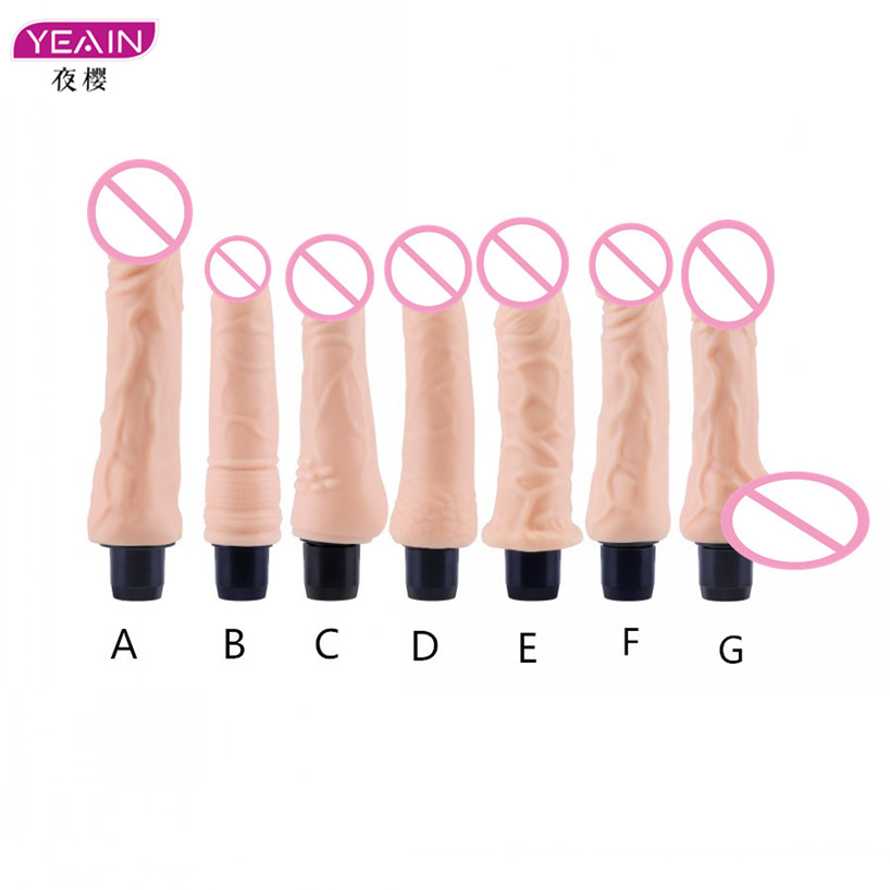 Yeain Silicone Small/Big Dildo Vibrator Sex Toy Realistic Dildos for Woman,Anal Dildo Vibrator Male Artificial Penis Sex Shop usb heated dildos suction cup dildo realistic vibrator dildo foreskin big dick male artificial penis vibrator sex toy for woman