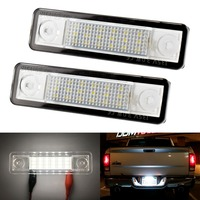 2X Car LED License Plate Lights 12V Number Plate Lamp For Opel Astra G Astra F
