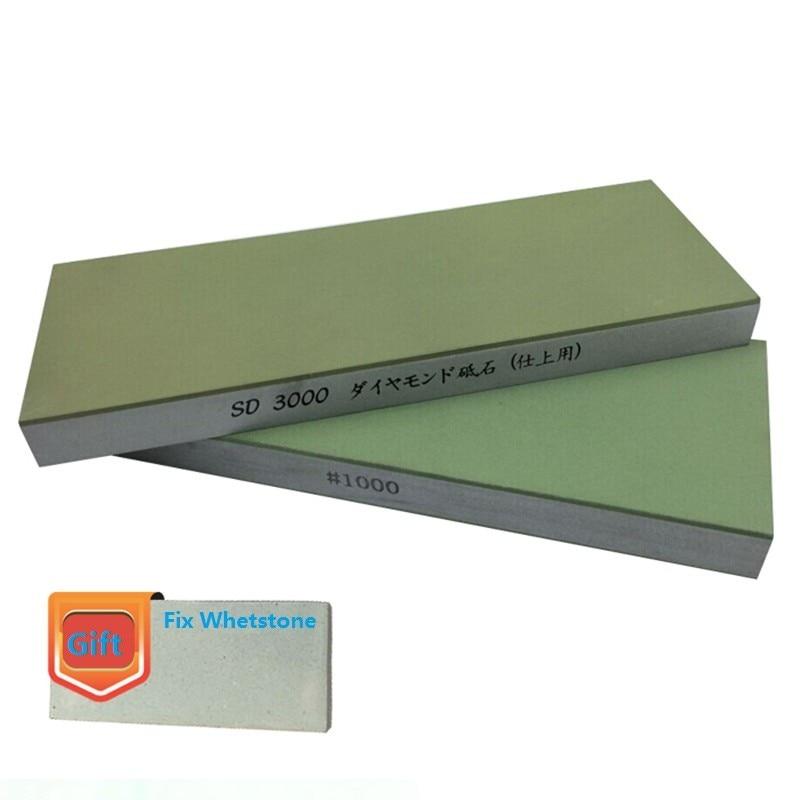 ALLSOME 1000# 3000# 6000# 12000# Grit Professional Diamond Resin Grindstone Knife Sharpener Sharpening Grinding Stone Whetstone