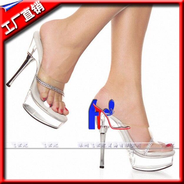5 Ihch Lady Fashion High Heel Shoes Sexy 14cm Leisure Rhinestone Silver Heels With Sexy Stripper Shoes 15 sexy high heeled shoes crystal sandals sweet rhinestone sexy shoes bride wedding shoes 6 ihch heels platform stripper shoes
