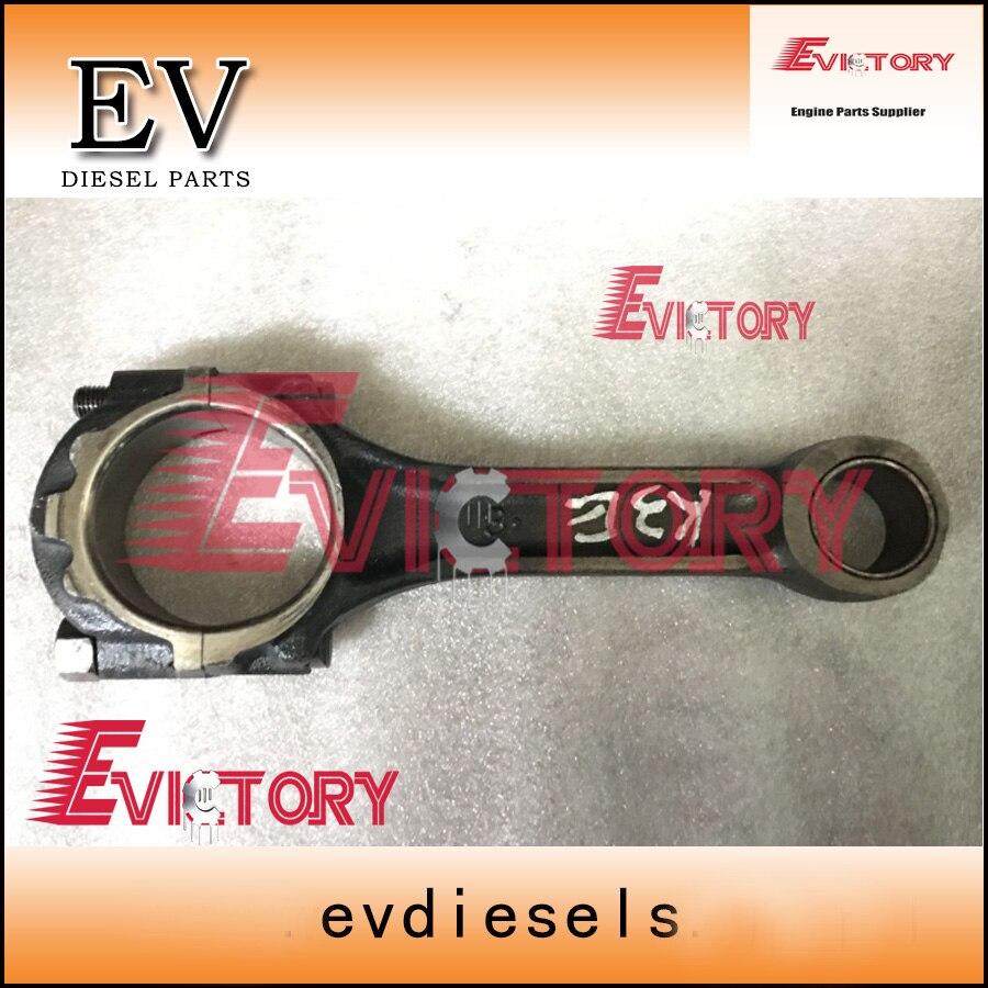 K4E pleuel K4E con stange Für mitsubishi motor bagger-in Kolben, Ringe, Stäbe & Teile aus Kraftfahrzeuge und Motorräder bei