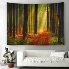 Ouneed Wall Hanging Tapestry forest Bohemian Hippie Bedspread Home Decor Pattern a801 15 все цены