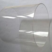 2 шт. OD150x3x1000mm акриловая прозрачная труба домашний декор «здания» защитная пленка высокой прозрачности Пластик Светодиодная трубка