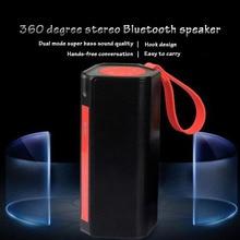 Exibição De Energia De Carregamento Do Carro Quente ao ar livre Portátil Bluetooth Speaker Subwoofer Para Dust-proof Cartão TF Rádio FM Alto-falantes À Prova D' Água