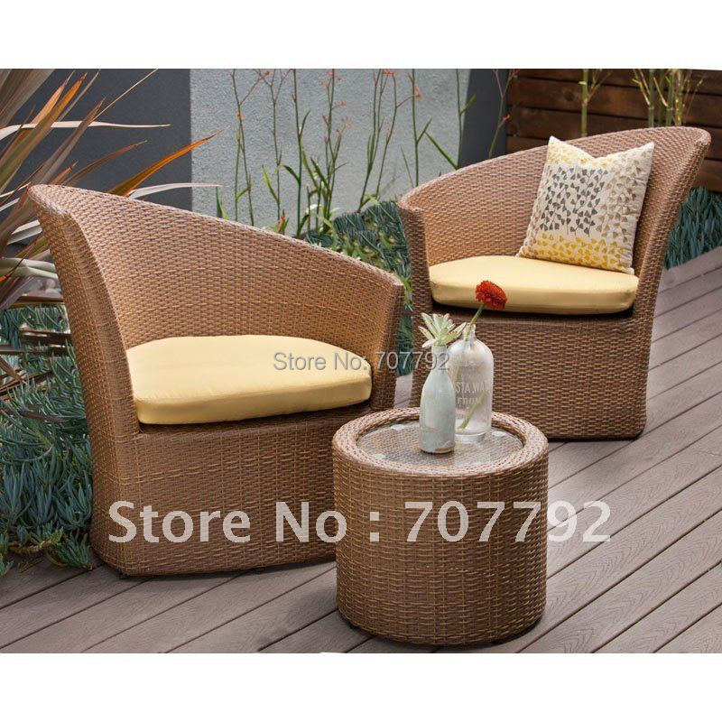 All Weather Patio Furniture Wicker Chat