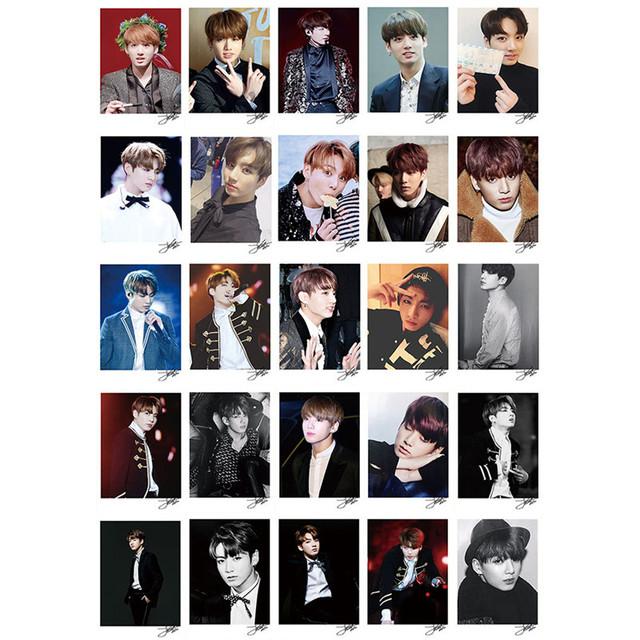 JungKook Photo Card Album 50 pcs