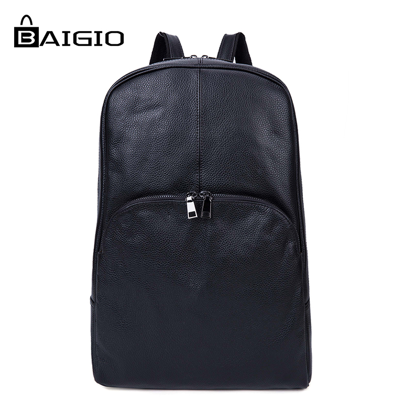 Baigio 2017 New Arrival Preppy Style Unisex Backpack Bags for Male And Female Students School Leather Bag Young Men & Women Bag 2016 new arrival brand unisex vintage preppy style canvas bags women backpack men school bag travel bags free shipping