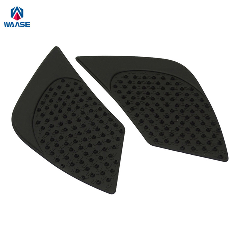 waase Motorcycle Tank Pad Protector Sticker Decal Gas Knee Grip Tank Traction Pad Side 3M For BMW R1200R 2015 2016 motorcycle tank pad protector sticker decal gas knee grip tank traction pad side 3m for suzuki hayabusa gsxr1300 2008 2009 2016