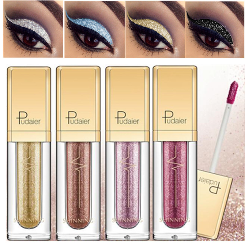 Eye Shadow Loyal Bud K Liquid Eye Shadow 9 Colors Glitter Eye Shadow Pencil Pen Waterproof Shining Liquid Eyeshadow Beauty Essentials