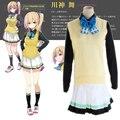 Japanese Anime Myriad Colors Phantom World Reina Izumi Cosplay Costume