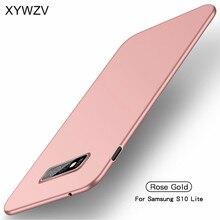 Pour Samsung Galaxy S10E Cas Mince Ultra Mince de Luxe Lisse Dur PC Téléphone étui pour Samsung Galaxy S10e Housse Pour Samsung S10E