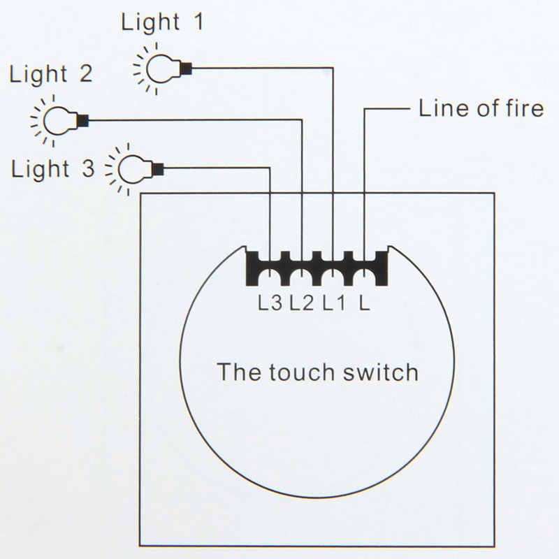 Сенсорный выключатель, стандарт ЕС, прерыватель, кристалл, стеклянная панель, настенный светильник, переключатель, AC220V, 1 банда, 1 способ, белый/черный/золотой, светодиодный светильник