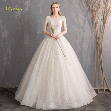 Loverxu Ball Gown Wedding Dress 2019 Bridal Gown