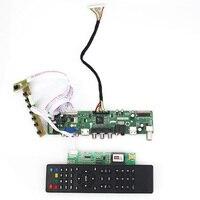 T.VST59.03 LCD/LED Controller Driver Board For LP154WX4 TLCB (TV+HDMI+VGA+CVBS+USB) LVDS Reuse Laptop 1280x800