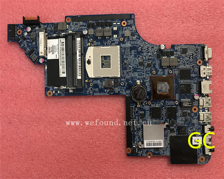 laptop Motherboard For DV6-6000 665341-001 665341-501 system mainboard Fully Tested цена