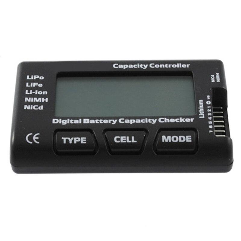 Digital Battery Capacity Checker Controller RC CellMeter 7 For LiPo LiFe Li-ion NiMH Nicd Tester Measurement Hot VEG07 f01974 digital battery capacity checker cell meter for nicd nimh li po life li lon akku cellmeter 7