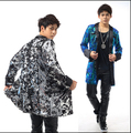 Custom models nightclub Men's singer DJ star with Style right Zhi-long color sequined costumes suit jacket and long sections