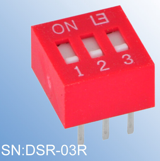 ELEWIND Recessed type of DIP SWITCH(DSR-03R)