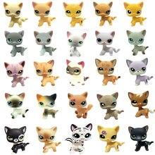 Nuevo juguete raro de la tienda de mascotas Lps envío gratis Real corto Tabby gran colección Dane 41 estilo acción de pie niños mejor regalo